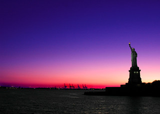 Lady Liberty at Sunset, New York, NY | by Grufnik