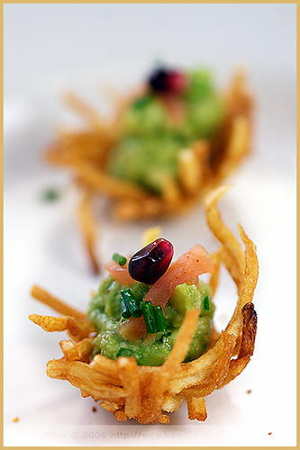 Potato Nests with Avocado and Smoked Salmon | by La tartine gourmande