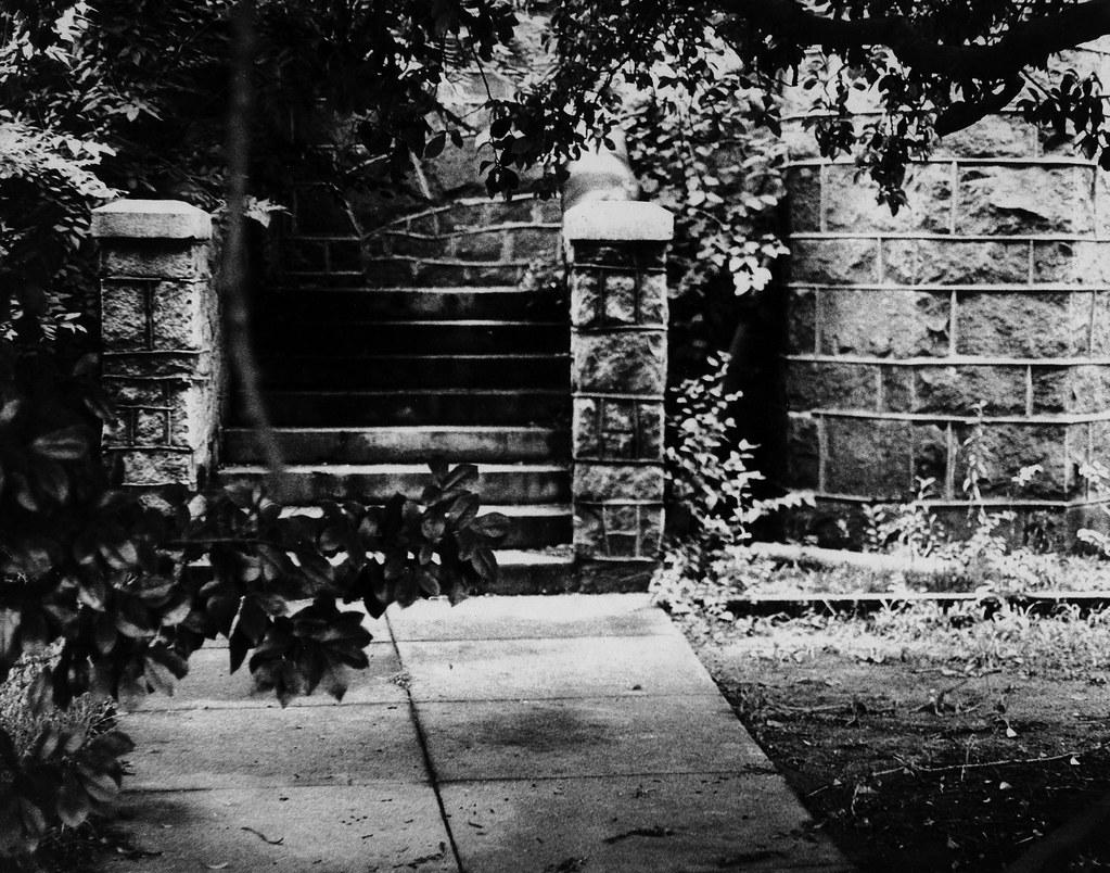 Sacred Heart, Side Entrance, Augusta, GA, 1970s