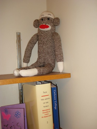 My Sock Monkey Prize | by Pegasus Librarian