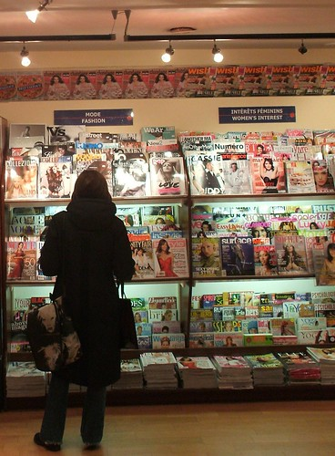 Coll at the Magazine Stands | by PinkMoose