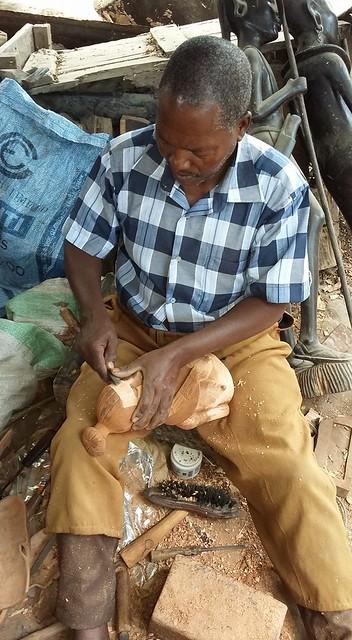 Akamba Wood Carving