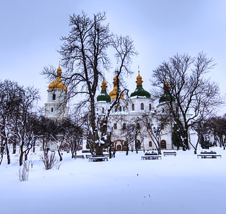 The Church and the Ukrainian Blizzard | by Stuck in Customs