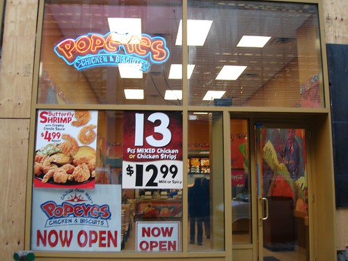 Popeye's Opens in Midtown | by MidtownLunch