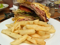 Steak Sandwich - Swan Hotel, Richmond | by avlxyz
