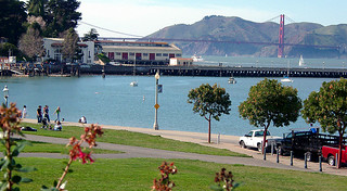 Aquatic Park as seen from the Hyde Street turntable | by Jim Lambert