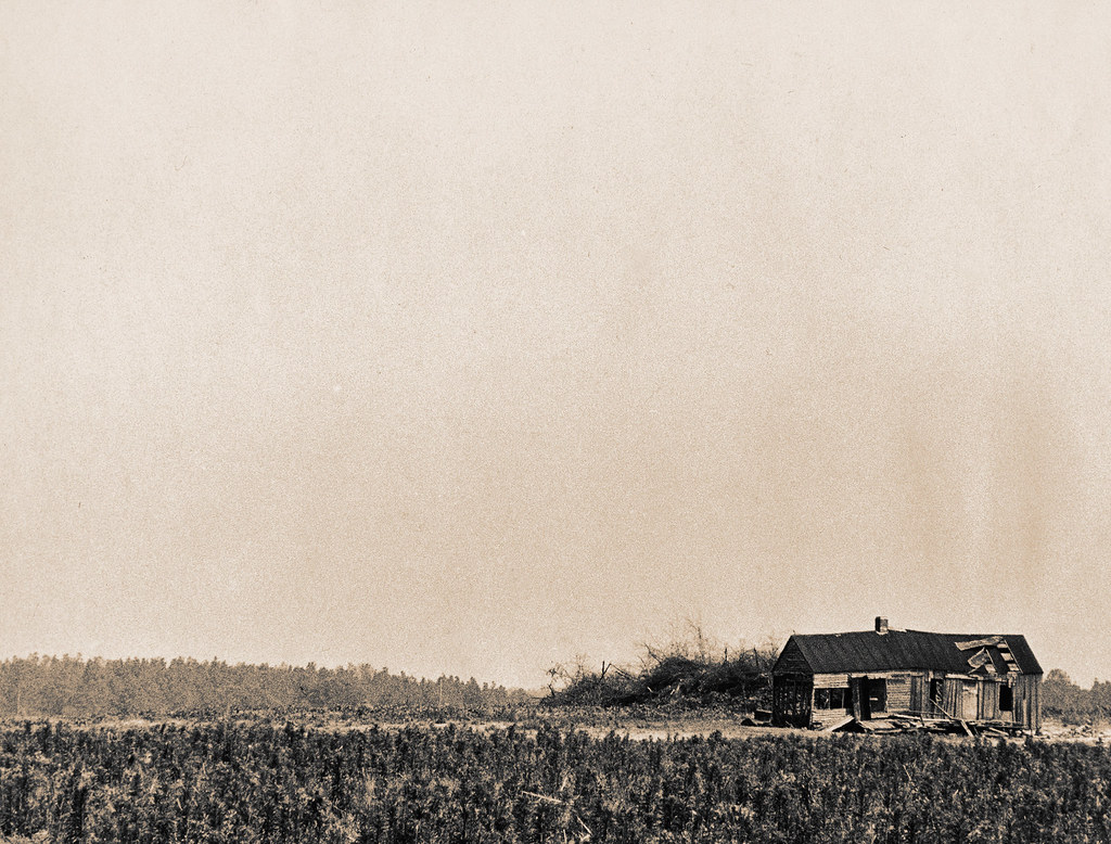 Old House Outside Augusta, GA, 1970s