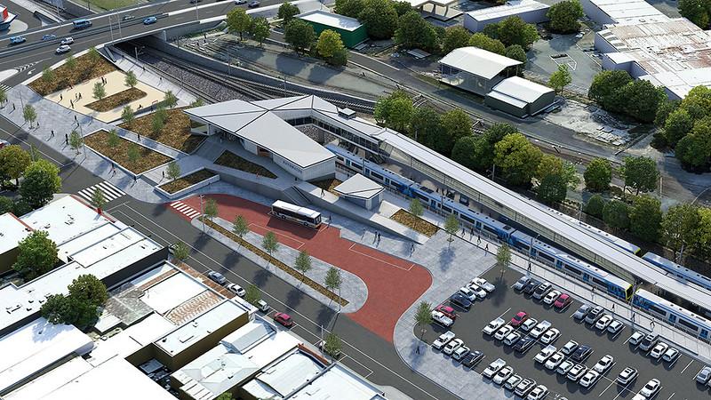 Bayswater station plan