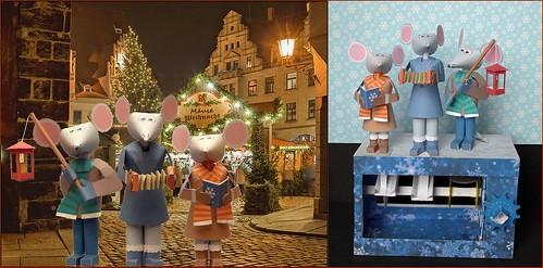 Weihnachts Mäuse