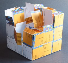 Business Card Cube Gift Box (mangled) | by Randy Cox