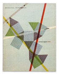 GD 1955 Annual Report Front Cover | by Erik Nitsche