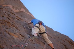 Matt Lead Climbing | by Hegeman