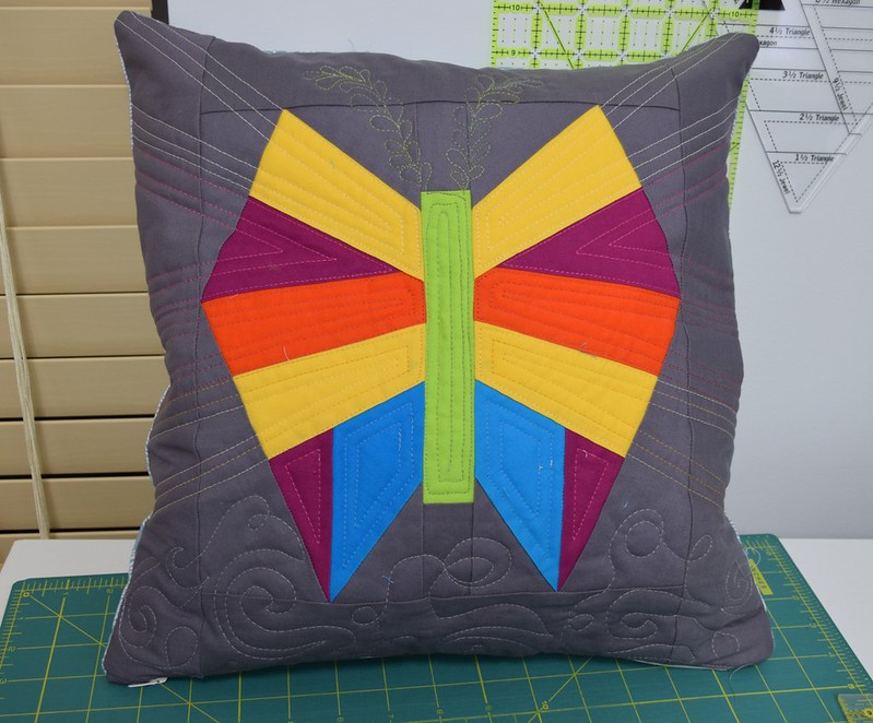 butterfly pillow front