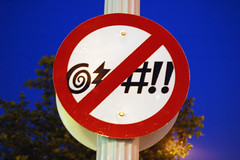 (No Cursing??) Sign | by christopherdale