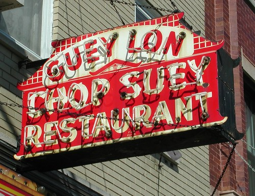 Guey Lon Chop Suey Restaurant Sign | by pixeljones