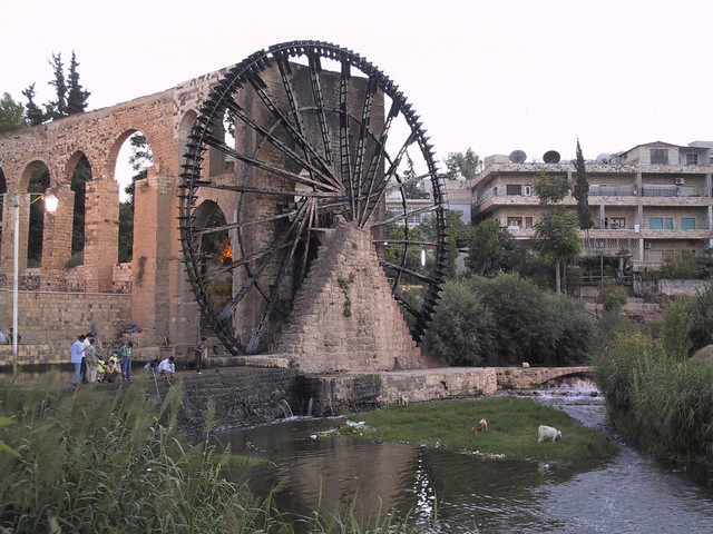Water wheel, Hama, Syria
