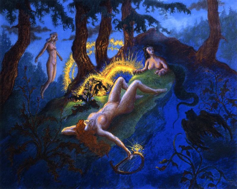 Paul Ranson - Fallen Stars, 1900