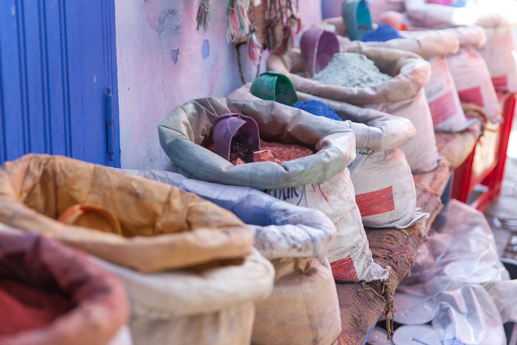 Chefchaouen spices