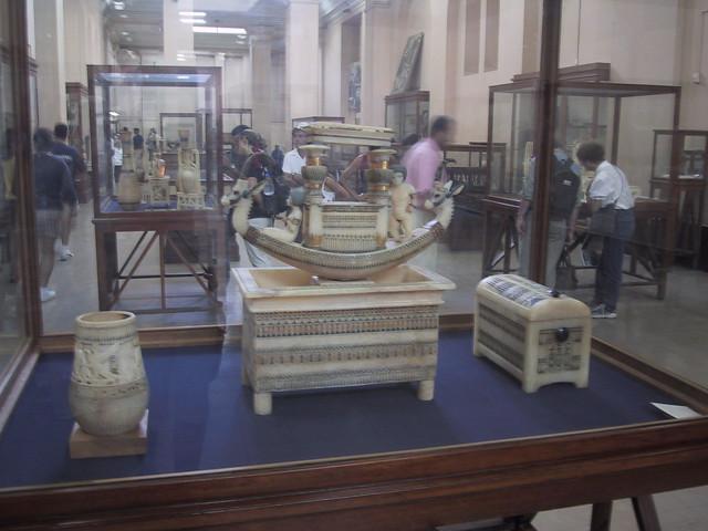 King Tutenkahmun treasure, Cairo Museum, Egypt