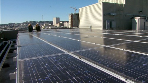 Solar Roof on the Plaza Apartments | by kqedquest