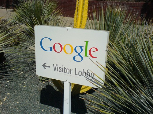Google Visitor Lobby | by clotilde