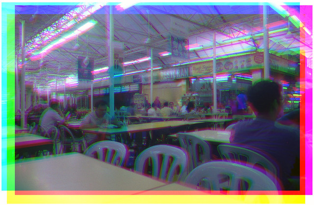 Tricolour KL dinning hall