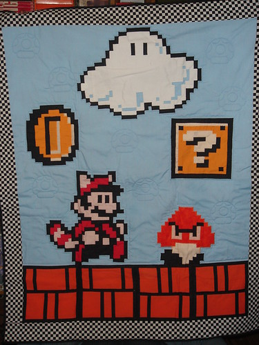 Grant's Mario Quilt | by bobrocks79