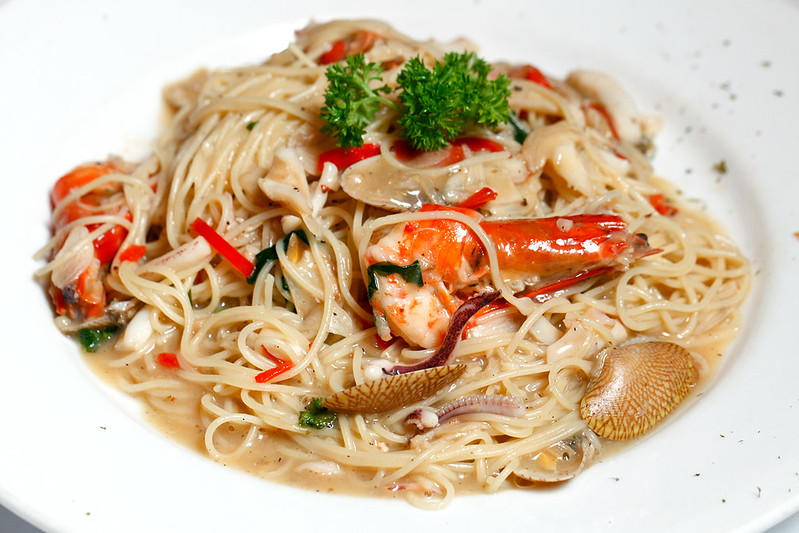 Frutti di Mare Angel Hair Pasta