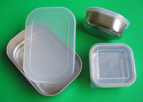 Stainless steel food containers | by Biggie*