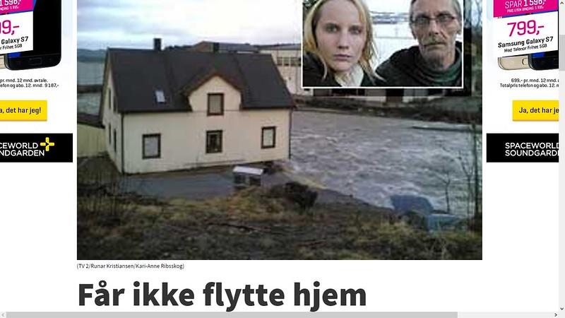 enda mer om hus som falt i elva