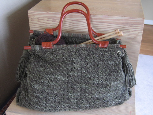 berroco knitting tote | by moonbirdblue