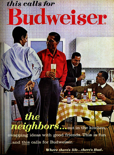 1960s Advertising - Magazine Ad - Budweiser (USA) | by ChowKaiDeng