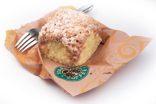 Starbucks' Crumble Coffee Cake | by mandolux