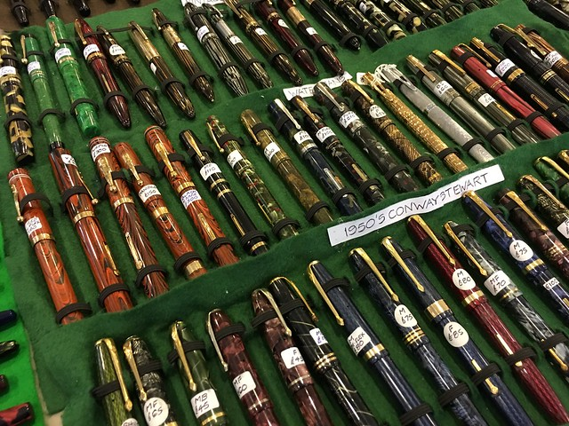 Madrid Pen Show 2016 Close Ups! @Iguana_Sell 16