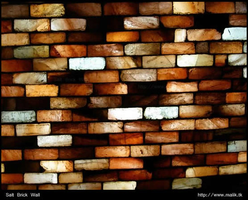 Salt Brick Wall | by UJMi