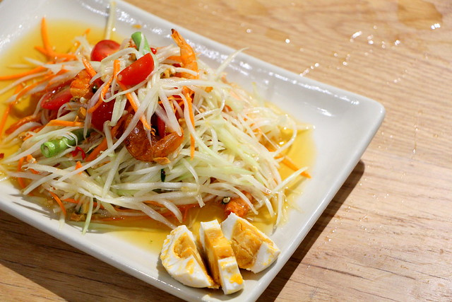 Cha Thai Papaya Salad