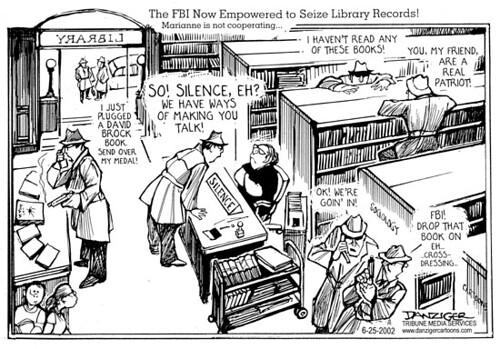 FBI in libraries