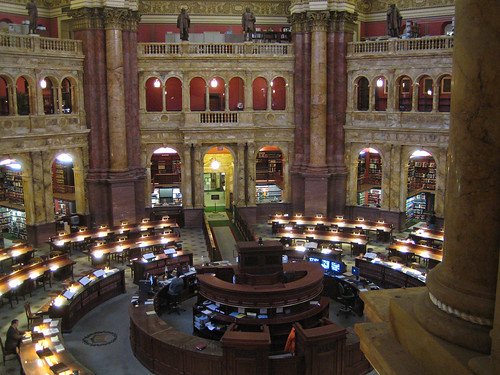 Library of Congress Reading Room 1 | by maveric2003