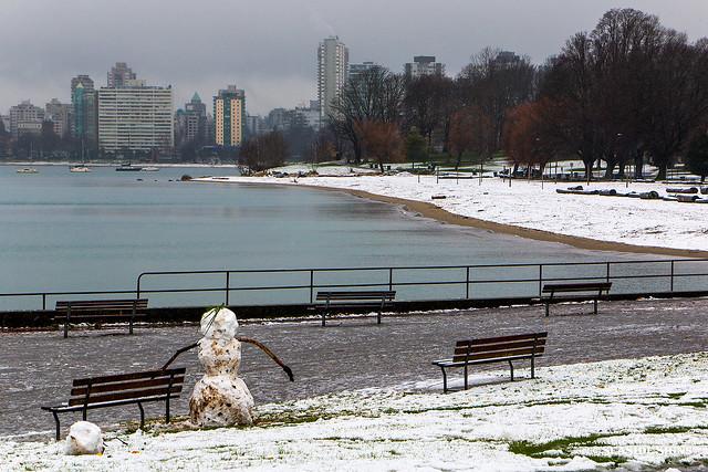 Seaside Snowman ⛄️🌊