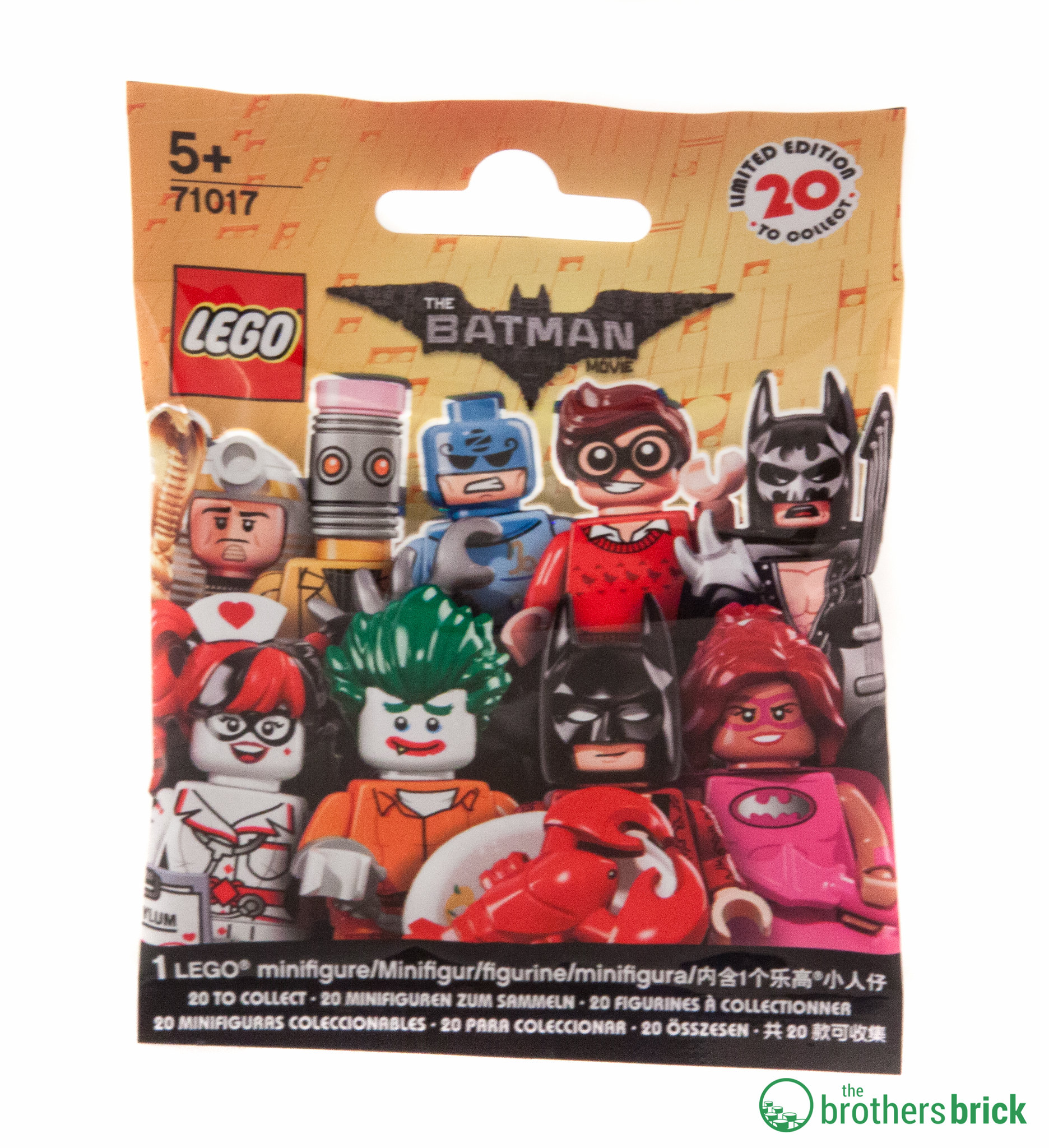 the lego batman movie collectible minifigures 71017 review the brothers brick the brothers. Black Bedroom Furniture Sets. Home Design Ideas