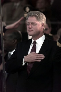 Public Domain: President Clinton on Inauguration Day by Phan Russ Carter, January 20, 1997 (DOD 970120-N-5448C-205) | by pingnews.com