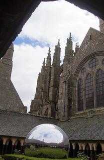 050 Kloostergangen Mont Saint-Michel