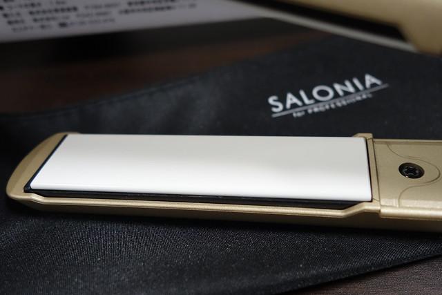 SALONIA サロニア ダブルイオンストレートアイロン プロ仕様230℃ 海外対応 SL-004SC 限定カラー ゴールド