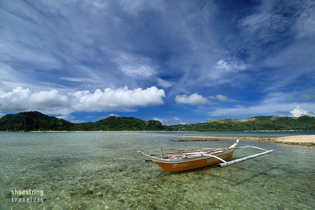 another outrigger boat at Bulubadiang