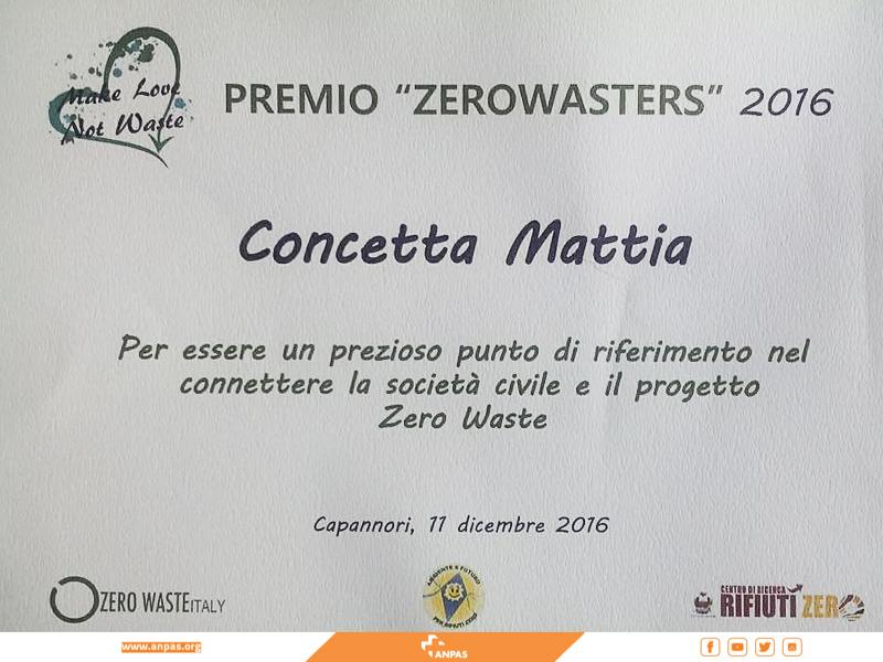 Anpas Zerowaster 2016