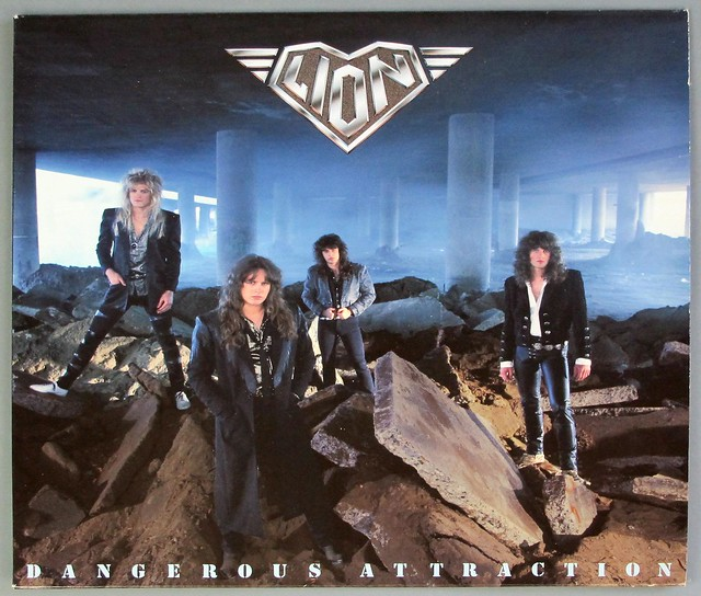 "LION - DANGEROUS ATTRACTION 12"" LP VINYL"