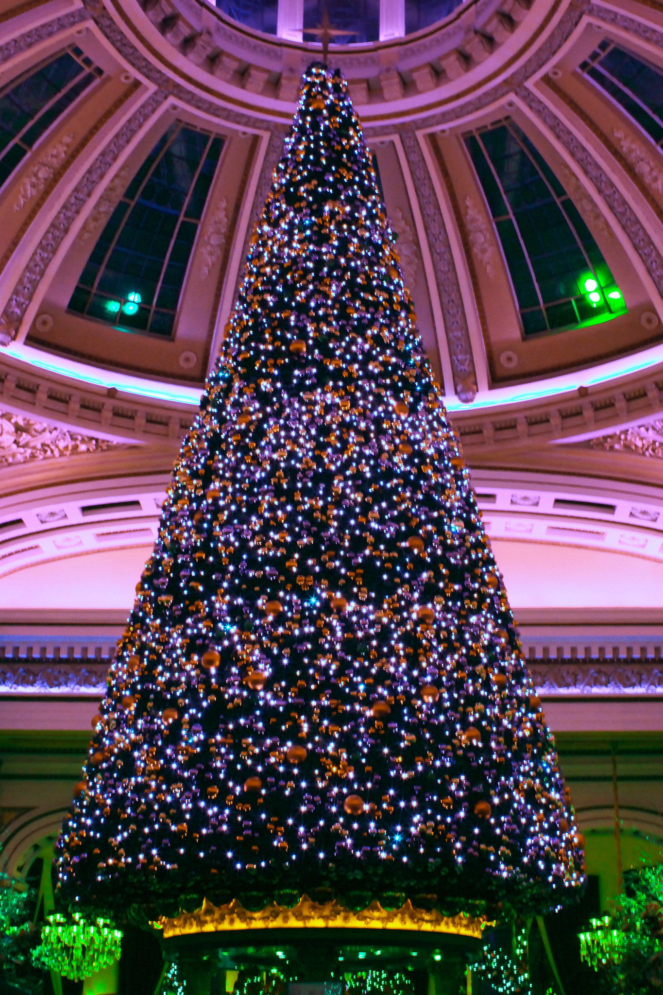 Christmas The Dome Edinburgh cocktails lifestyle blogger UK