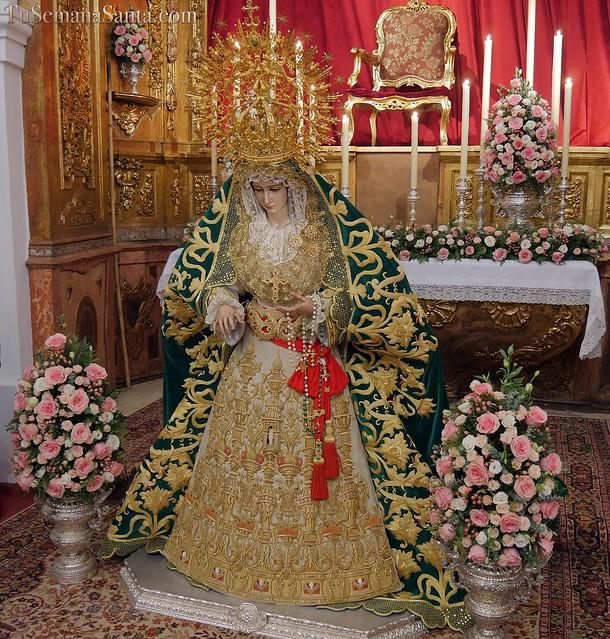 Besamanos de la Virgen de Gracia y Esperanza (Málaga)