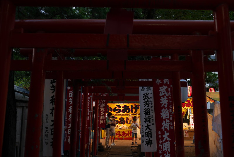 東京路地裏散歩 雑司が谷鬼子母神の盆踊り 2015年7月24日