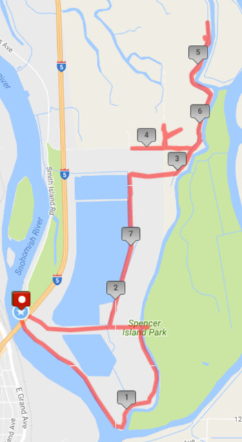 """Yesterday""""s awesome walk, 8.26 miles in 2:56, 18,754 steps"""